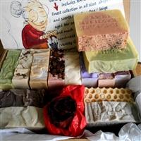 Fresh Handmade Natural Artisan Healthy Soap Gift Set - All Natural Skin Care Soap