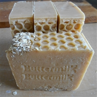 Handcrafted Healthy All Natural Skin Care 7 oz Soap made with fresh buttermilk -