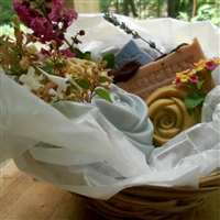 All Natural Five Piece Gift Basket