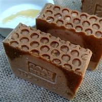 Fresh Goats Milk Soap with Golden Blossom Honey And Oatmeal
